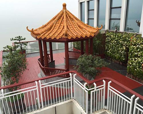 屋顶、阳台景观绿化