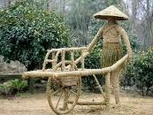 江苏绿雕与稻草人